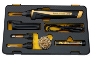 PRO-25L Cordless USB Rechargeable Soldering Iron Kit from Pro-Iroda