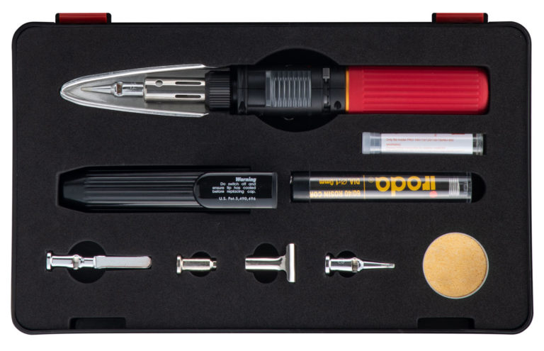 SOLDERPRO 100K Version 2 Professional Butane Soldering Iron Kit from Pro-Iroda
