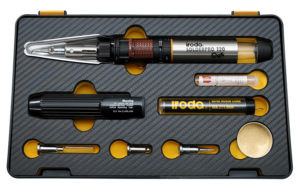 SOLDERPRO 120K Professional Butane Soldering Iron Kit with 3 additional soldering tips from Pro-Iroda