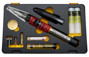 SOLDERPRO 150K Professional portable Butane Soldering Iron Kit with butane recharges from Pro-Iroda