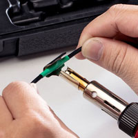 Using Pro-Iroda's SOLDERPRO 150K Professional Butane Soldering Iron to do Heat Shrinking